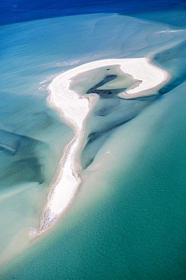 Luftaufnahme der Moreton Bay / Aerial View of Moreton Bay