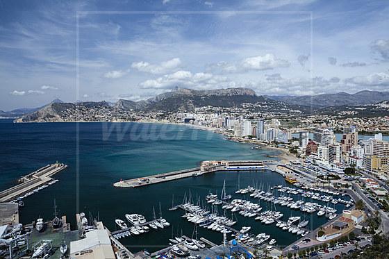 Hafen von Calpe / Port of Calpe