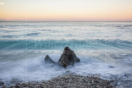 Naturstrand Ethel Beach / Waves at Ethel Beach