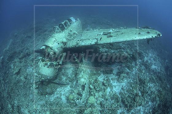 Japanisches Flugzeugwrack / Japanese Jake Fighter seaplane