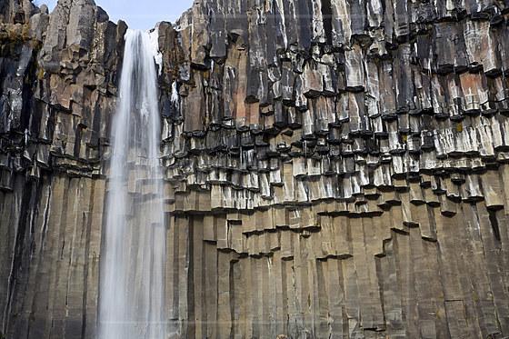 Svartifoss Wasserfall / Svartifoss Waterfall