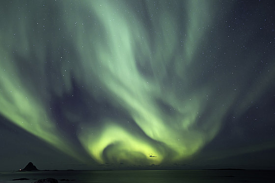 Polarlicht im hohen Norden / Polar Lights in the far north / Aurora Borealis