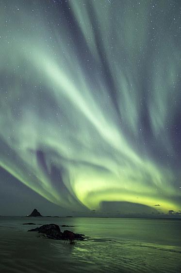 Polarlicht im hohen Norden / Polar Lights in the far north / Aurora Borealis